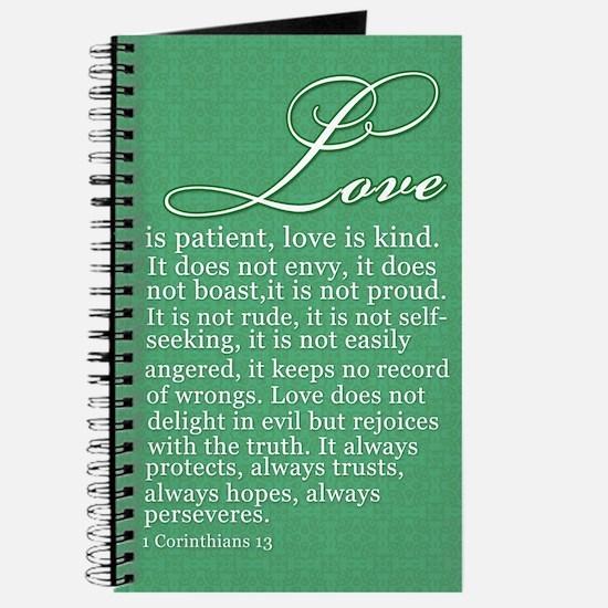Love is patient....Journal