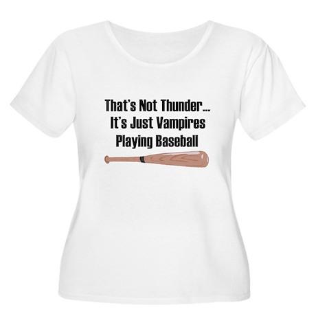 Vampire Baseball Women's Plus Size Scoop Neck T-Sh