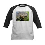 Galapagos Islands Turtle Kids Baseball Jersey