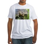 Galapagos Islands Turtle Fitted T-Shirt