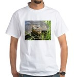 Galapagos Islands Turtle White T-Shirt