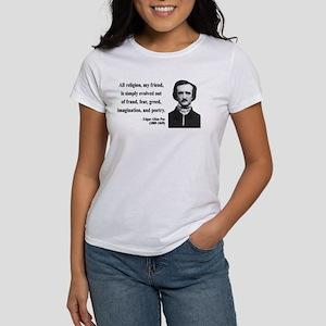Edgar Allan Poe 15 Women's T-Shirt
