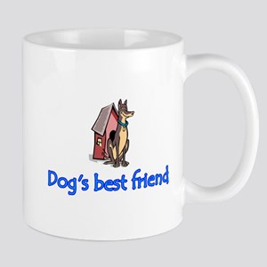 """Dog's best friend"" Mug"