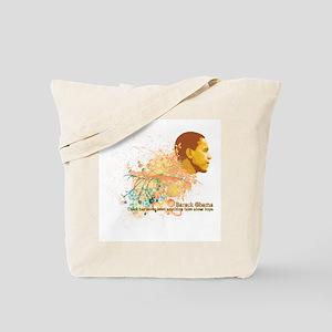 Graphics Obama Tote Bag