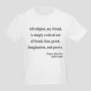 Edgar Allan Poe 15 Kids Light T-Shirt