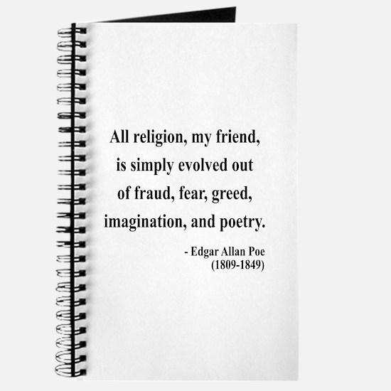 Edgar Allan Poe 15 Journal