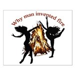 why man invented fire Small Poster