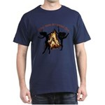 why man invented fire Dark T-Shirt