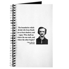 Edgar Allan Poe 16 Journal