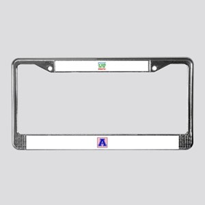 I Am Going For The Shooto License Plate Frame