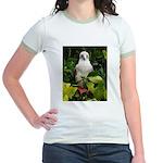 Galapagos Islands Red Footed Jr. Ringer T-Shirt