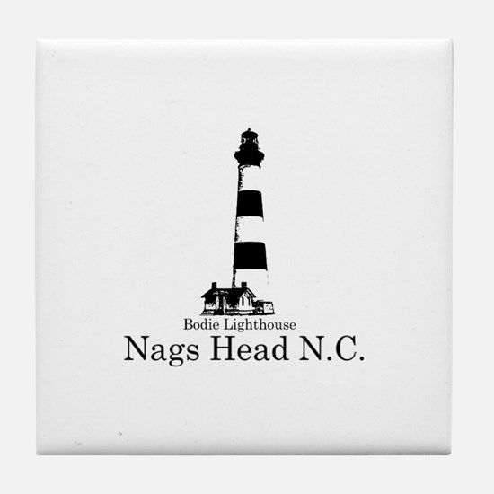 Bodie Lighthouse Tile Coaster