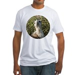 Galapagos Islands Bird Fitted T-Shirt