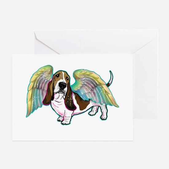 Twinkle Toes Angel copy Greeting Cards