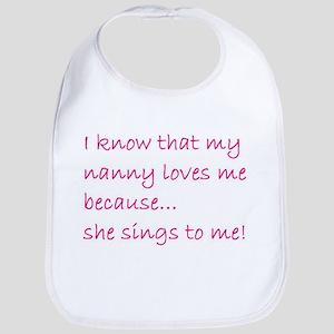 SHE SINGS TO ME (501) Bib