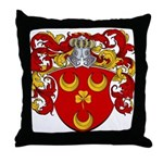 Van Der Bol Coat of Arms Throw Pillow