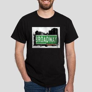 BROADWAY, MANHATTAN, NYC Dark T-Shirt