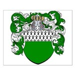 Van Der Donk Coat of Arms Small Poster