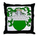 Van Der Donk Coat of Arms Throw Pillow