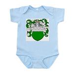 Van Der Donk Coat of Arms Infant Creeper