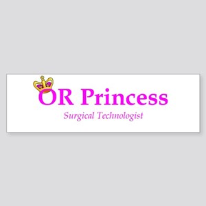 OR Princess ST Bumper Sticker