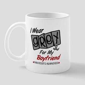 I Wear Grey For My Boyfriend 8 PD Mug