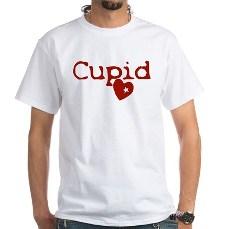 cupid White T-Shirt
