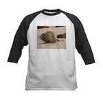 Galapagos Islands Sea Lion Kids Baseball Jersey