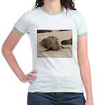 Galapagos Islands Sea Lion Jr. Ringer T-Shirt