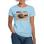 Galapagos Islands Sea Lion Women's Pink T-Shirt