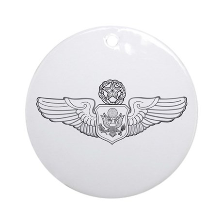 Aircrew Member Ornament (Round)