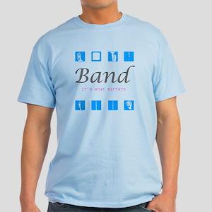 BAND runDMC logo Light T-Shirt