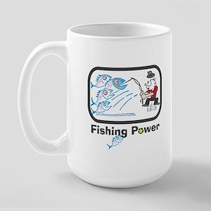 Fishing Power Large Mug