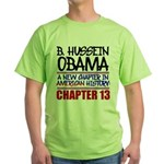 B. Hussein Obama - Chapter 13 Green T-Shirt
