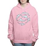 Minimal Shark Swimming School Sweatshirt
