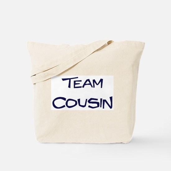 Team Cousin Tote Bag
