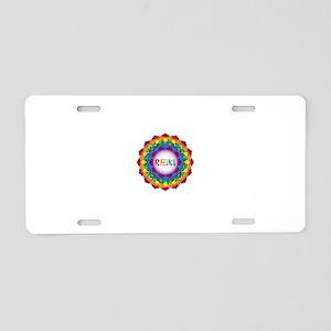 REIKI. Reiki Healing Chakr Aluminum License Plate