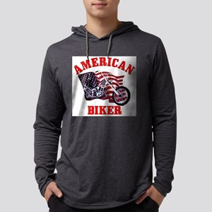 American Biker Long Sleeve T-Shirt