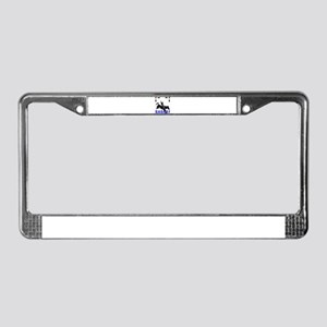 Rodeo License Plate Frame
