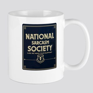 Sarcasm Society Mugs