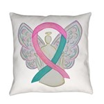 Breast & Ovarian Cancers Awareness Ribbon Everyday