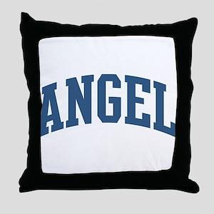 Angel Nickname Collegiate Style Throw Pillow