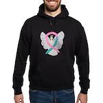 Breast & Ovarian Cancers Awareness Ribbon Sweatshi