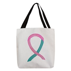 Breast & Ovarian Cancer Awareness Ribbon Polyester