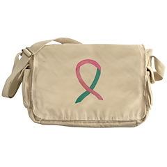Breast & Ovarian Cancer Awareness Ribbon Messenger