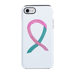 Breast & Ovarian Cancer Awareness Ribbon iPhone 8/