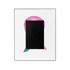 Breast & Ovarian Cancer Awareness Ribbon Picture Frame