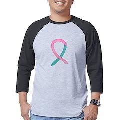 Breast & Ovarian Cancer Awareness Ribbon Mens Base