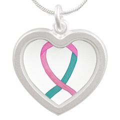 Breast & Ovarian Cancer Awareness Ribbon Necklaces
