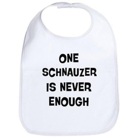 One Schnauzer Bib